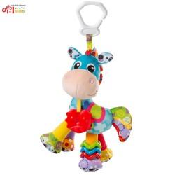عروسک آویزدار اسب شاخدار آبی PLAYGRO