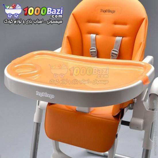 صندلی غذاخوری کودک طرح Zero نارنجی PegPerego