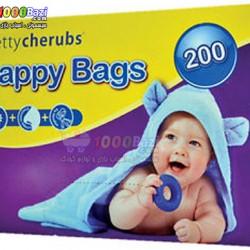 کیسه حمل پوشک معطر 200 عددی Pretty Cherubs