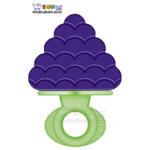 دندانگیر دسته دار کودک طرح میوه Pur