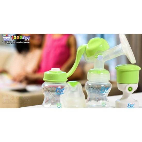 شیردوش پمپی با ست کامل Pur