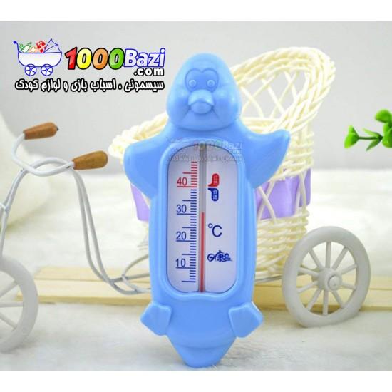 دماسنج حمام و اتاق کودک طرح پنگوئن ریکانگ