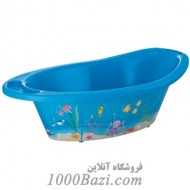 وان حمام کودک آبی طرح اقیانوس Rotho Baby Design