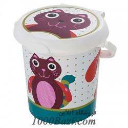 سطل اتاق کودک طرح حیوانات Rotho Baby Design