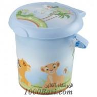 سطل اتاق کودک طرح شیر جنگل Rotho Baby Design