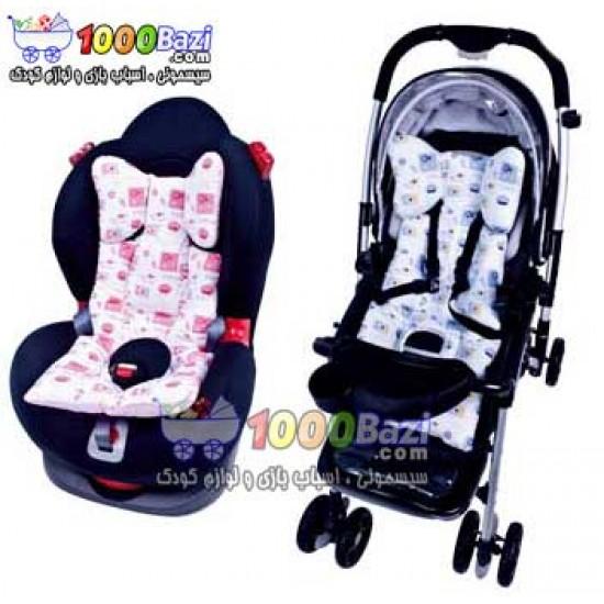 تشک صندلی ماشین و کالسکه کودک Sevibebe