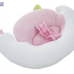 بالش شیردهی نوزاد طرح حلزون sevibebe