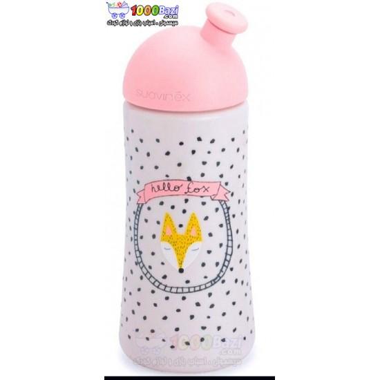 شیشه شیر آموزشی 18 ماهگی Suavinex