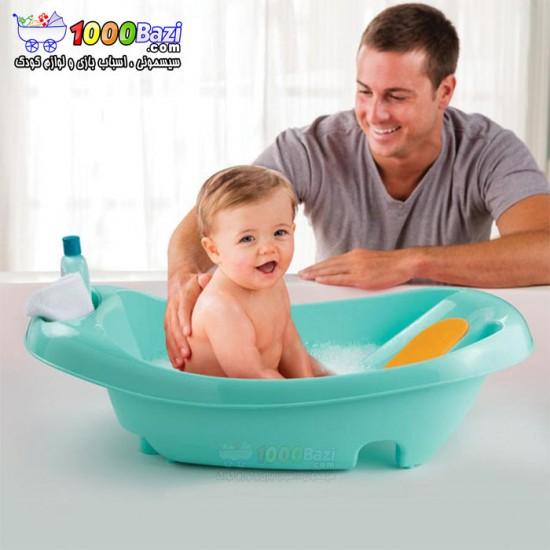 وان حمام نوزاد با دوش و اسباب بازی Summer