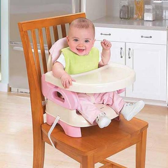 صندلی متصل غذاخوری صورتی سامر SUMMER