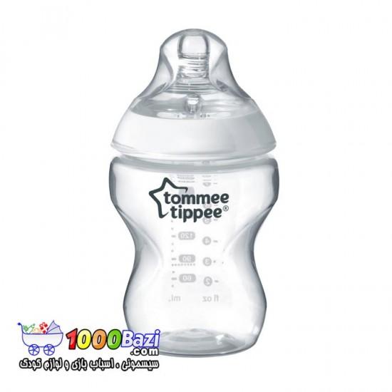 شیشه شیر با سرشیشه طبیعی 260 میلی Tommee Tippee