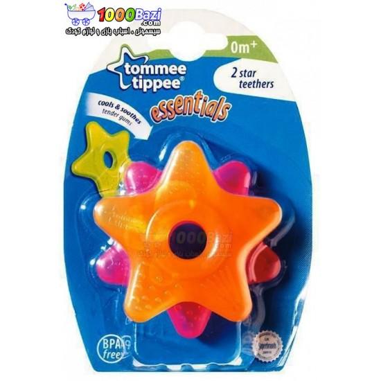 دندانگیر 2 عددی ستاره ای خنک کننده لثه Tommee Tippee