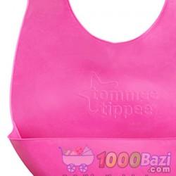 پیش بند پلاستیکی کودک با محفظه غذا Tommee Tippee