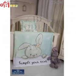 روتختی و ملحفهطرح خرگوشبرادلا
