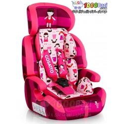 صندلی ماشین صورتی عروسکی تا 12 سال Cosatto