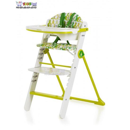 صندلی غذا خوری چوبی طرح سیب سبز تا 12 سال Cosatto