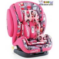 صندلی ماشین ایزوفیکس دار طرح دختر ژاپنی Cosatto