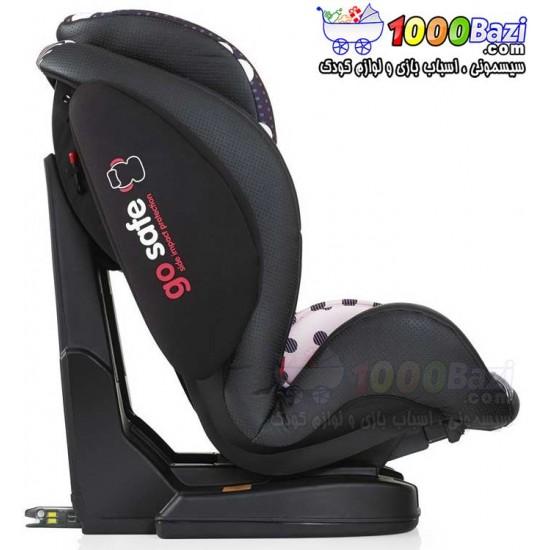 صندلی ماشین ایزوفیکس دار گلدار تا 12 سال Cosatto