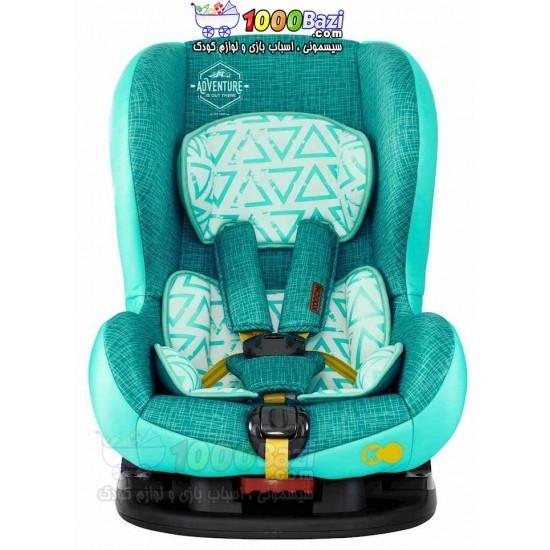 صندلی ماشین سبز کودک تا 4 سال Cosatto