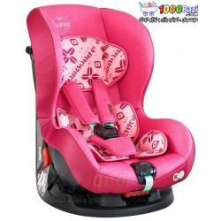 صندلی ماشین صورتی گلدار دخترانه تا 4 سال Cosatto