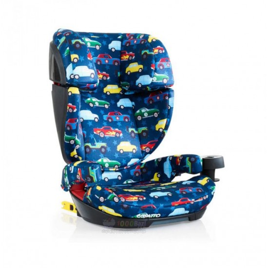 صندلی ماشین اسکیپا ایزوفیکس دار طرح اتوبوس Cosatto