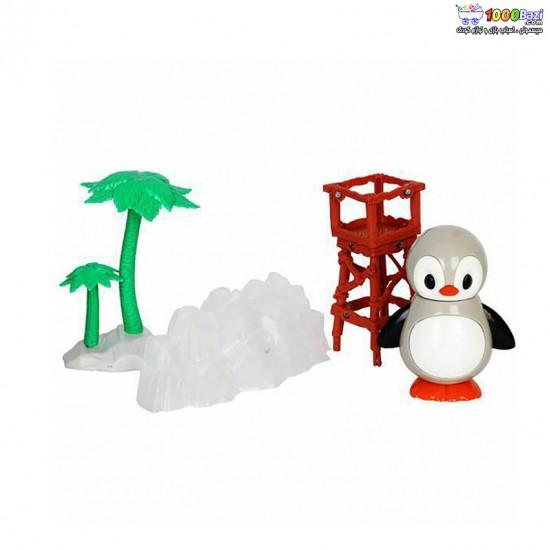 ست اسباب بازی برفی طرح پنگوئن cute toys