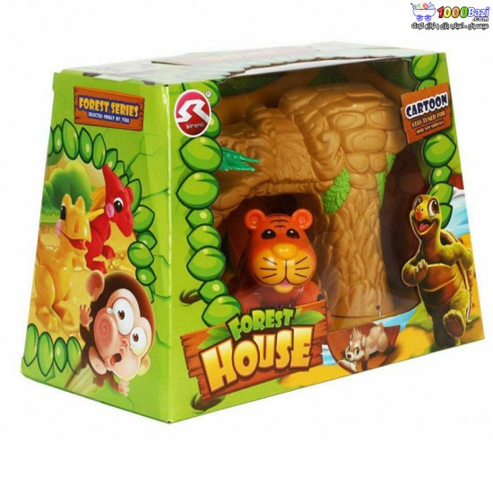 ست اسباب بازی جنگل طرح پلنگ cute toys
