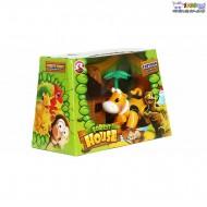ست اسباب بازی جنگل طرح گاو cute toys