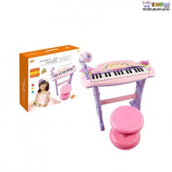 ست پیانو و میکروفون fairy of music