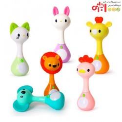 جغجغه حیوانات هولی تویز Huile Toys