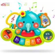 پیانو طرح فیل برند هولی تویز Huile toys