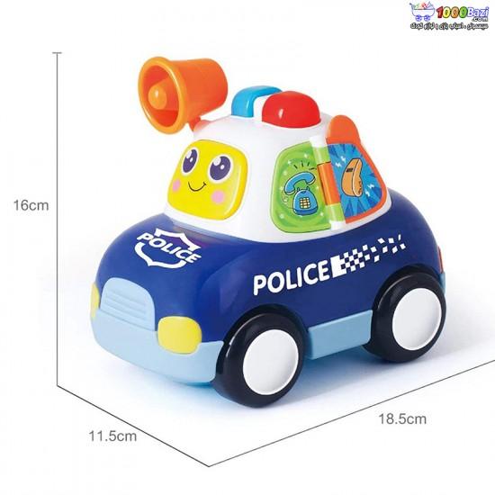 ماشین پلیس هویلی تویز Huile Toys