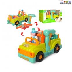 بازی آموزشی ماشین ابزار هولی تویز huile toys