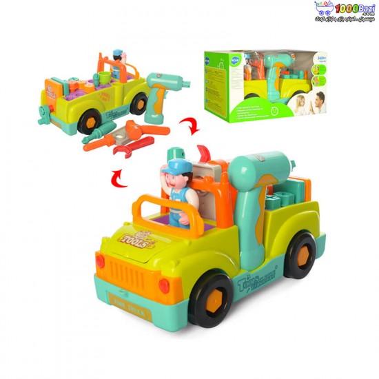 بازی آموزشی ماشین ابزار هولا huile toys