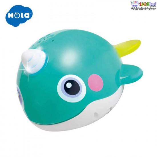 اسباب بازی نهنگ حمام هولی تویز huile toys