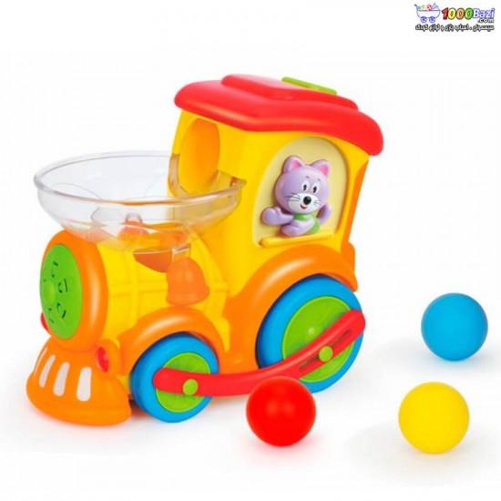 قطار توپ پخش کن هولي تويز Huile Toys