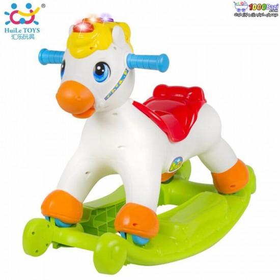 اسب الاکلنگی موزیکال هولی تویز Huile Toys