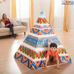 چادر بازی اینتکس مدل سرخپوستی