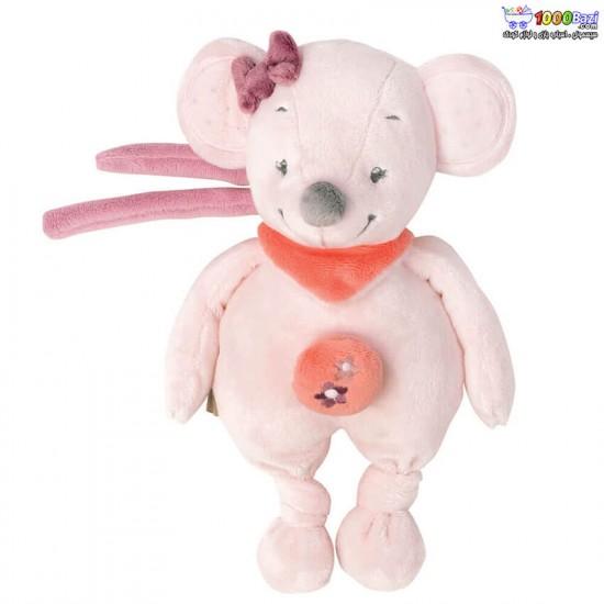 عروسک موزیکال موش صورتی ناتو nattou