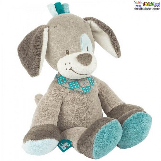 عروسک پولیشی ناتو nattou مدل سگ طوسی