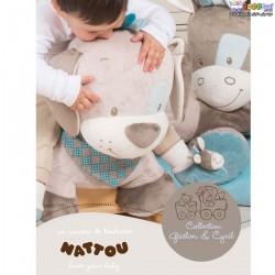 راکر کودک ناتو Nattou مدل راکر سگ آبی