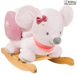 راکر کودک ناتو  Nattou مدل موش صورتی