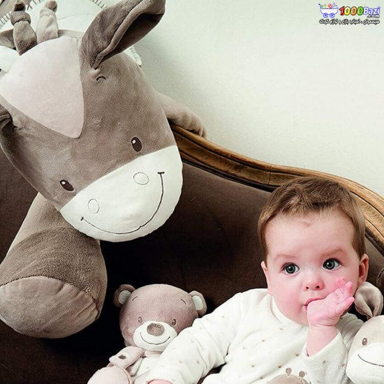 عروسک پولیشی بزرگ ناتو nattou مدل الاغ بزرگ