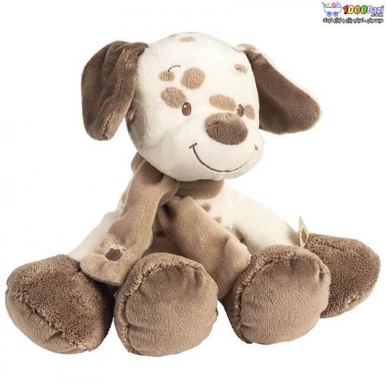 عروسک موزیکال سگ خالدار ناتو nattou