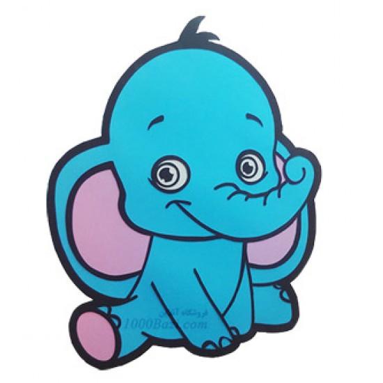 لوستر اتاق کودک مدل فیل مهربون