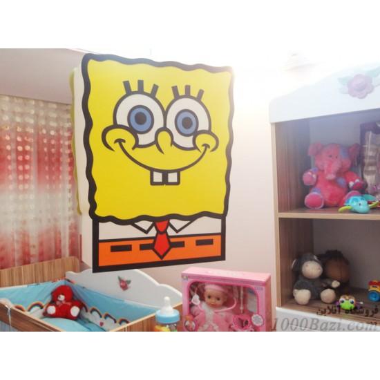 لوستر اتاق کودک مدل باب اسفنجی