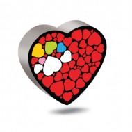 لوستر اتاق کودک مدل قلب عاشقانه