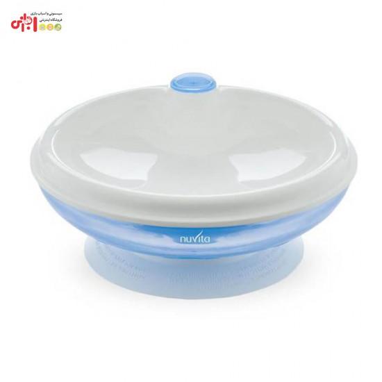 کاسه چسبان گرم نگهدارنده غذای کودک نوویتا Nuvita