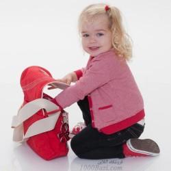 ساک لوازم نوزاد کوچک اوکی داگ قرمز Okiedog Genie