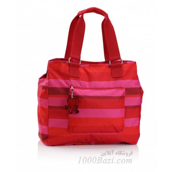 کیف لوازم کودک اوکی داگ Okiedog Skagen Versa red / pink